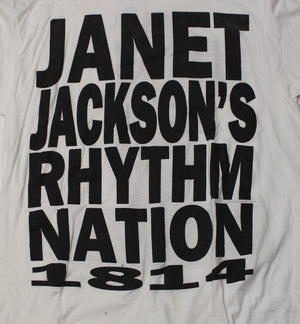 "Vintage Janet Jackson ""Rhythm Nation"" T-Shirt"
