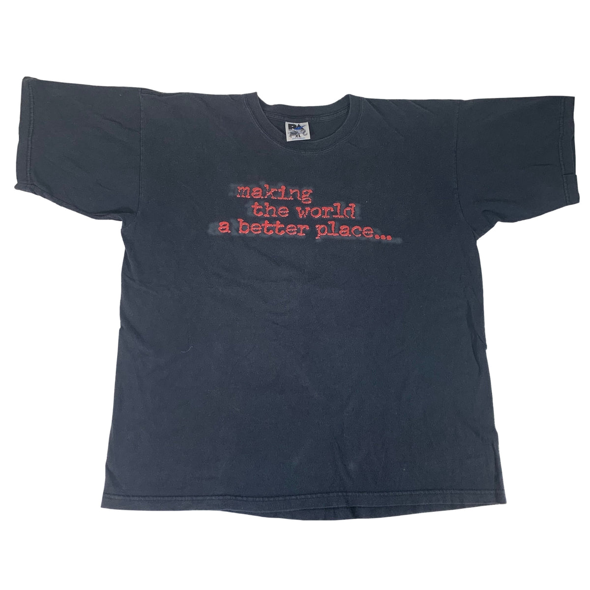 "Vintage Mankind ""Making The World A Better Place"" T-Shirt"