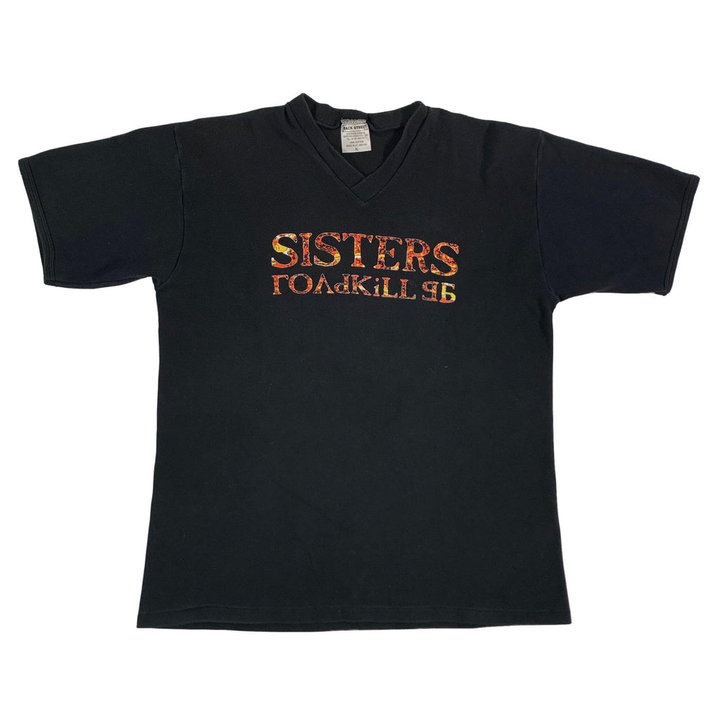 "Vintage The Sisters Of Mercy ""Roadkill"" V-Neck"