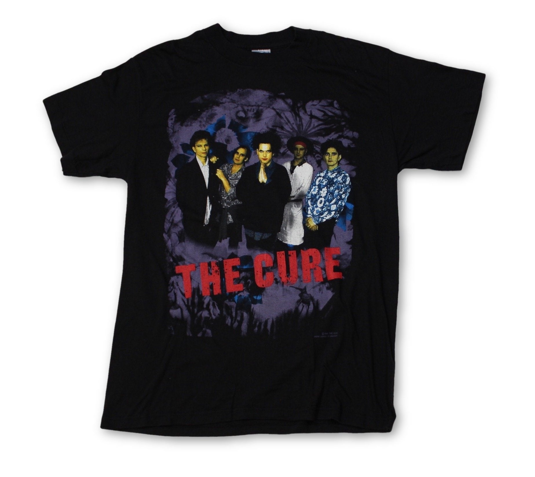 "Vintage The Cure ""Prayer Tour"" T-Shirt"