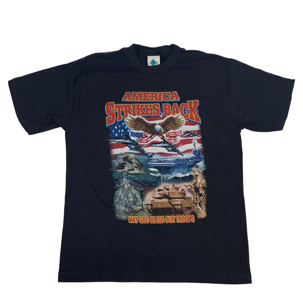 "Vintage America Strikes Back ""Troops"" T-Shirt"