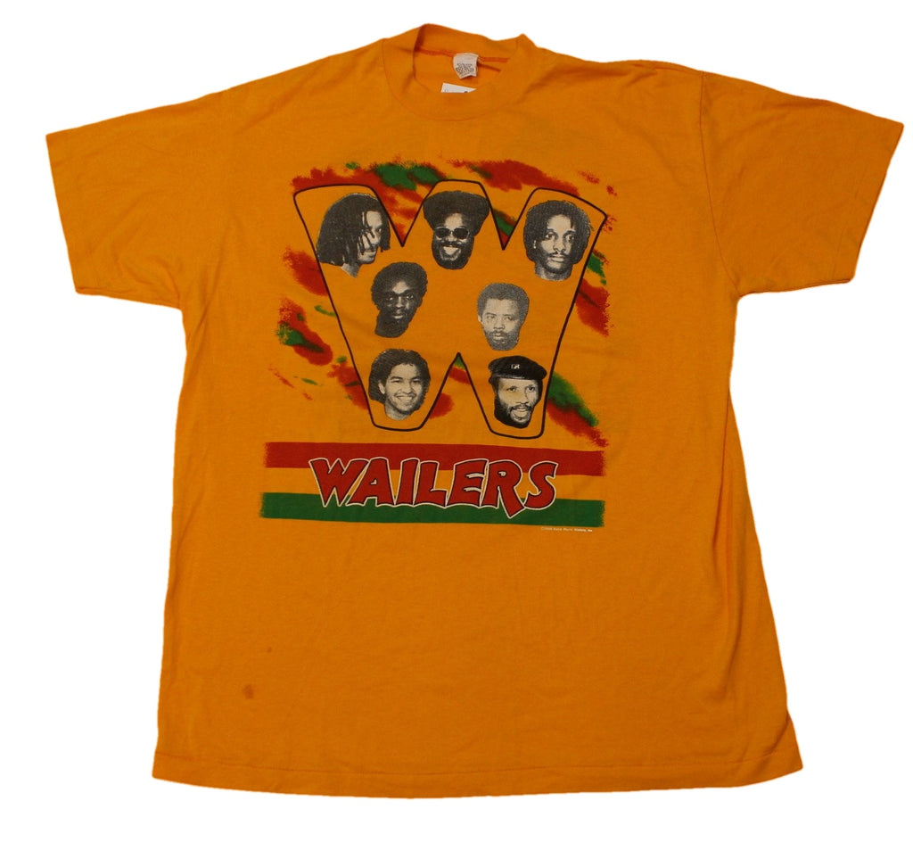 "Vintage The Wailers Band ""Band Muzic Wailes"" T-Shirt"