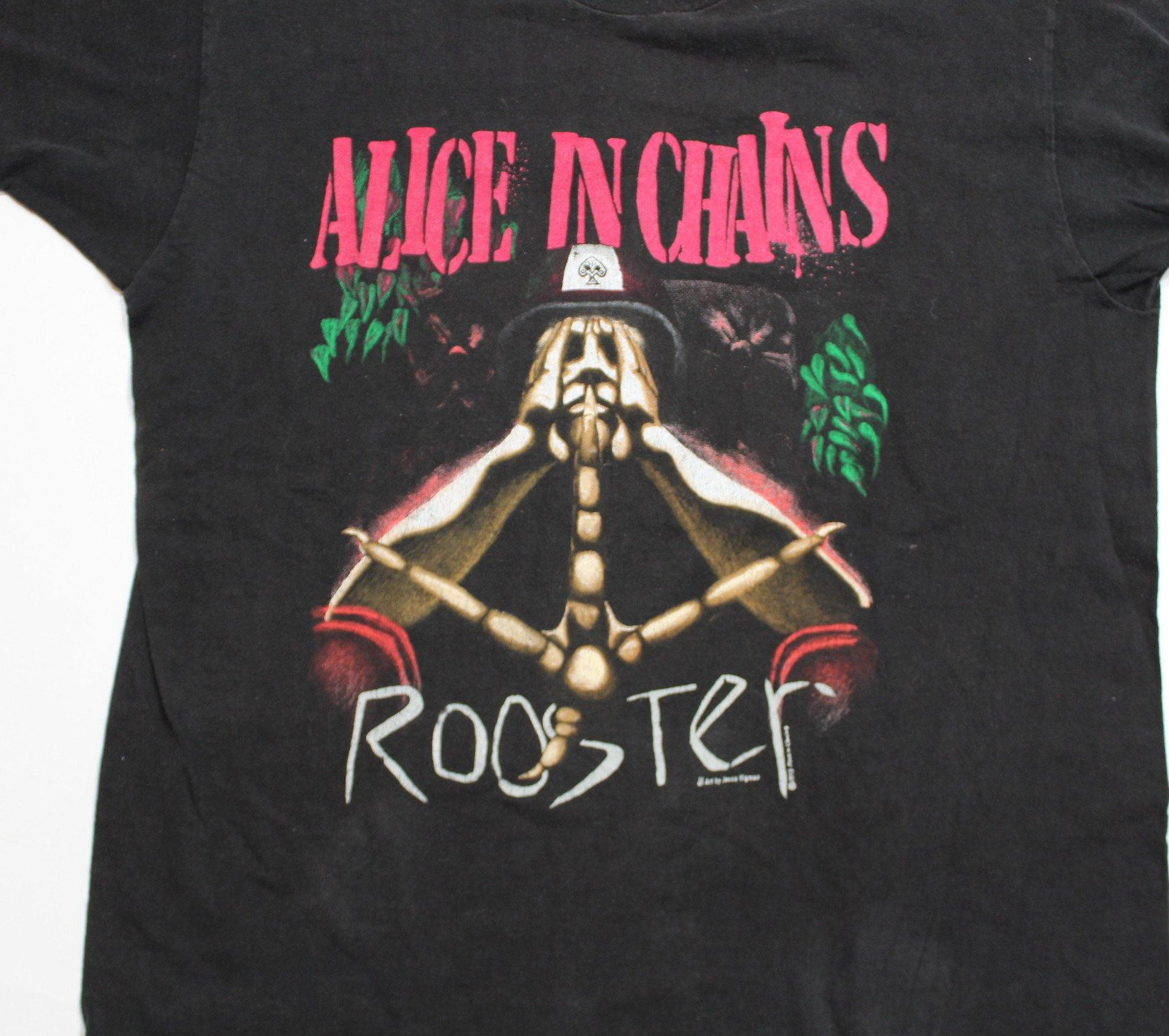 "Vintage Alice in Chains ""Rooster"" T-Shirt"