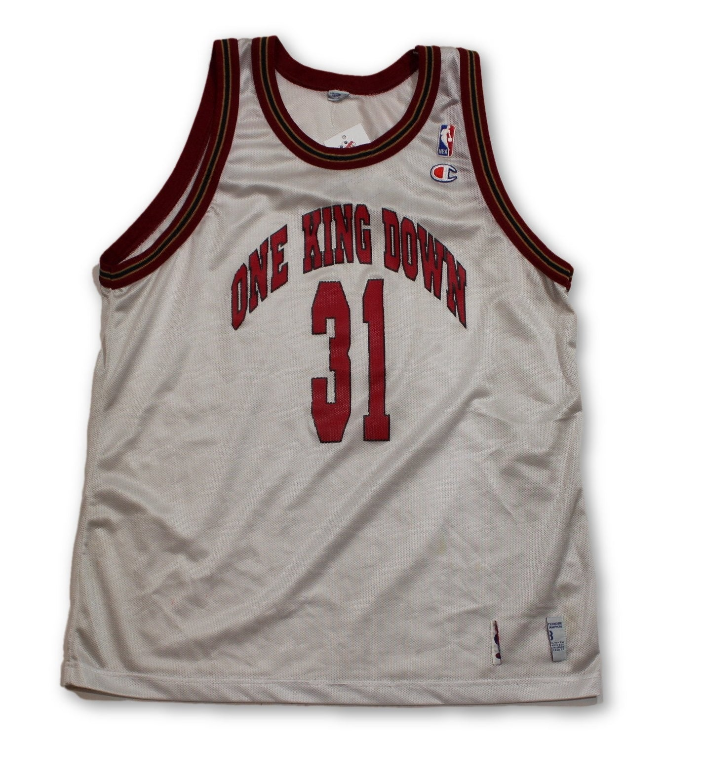 Vintage One King Down Basketball Jersey