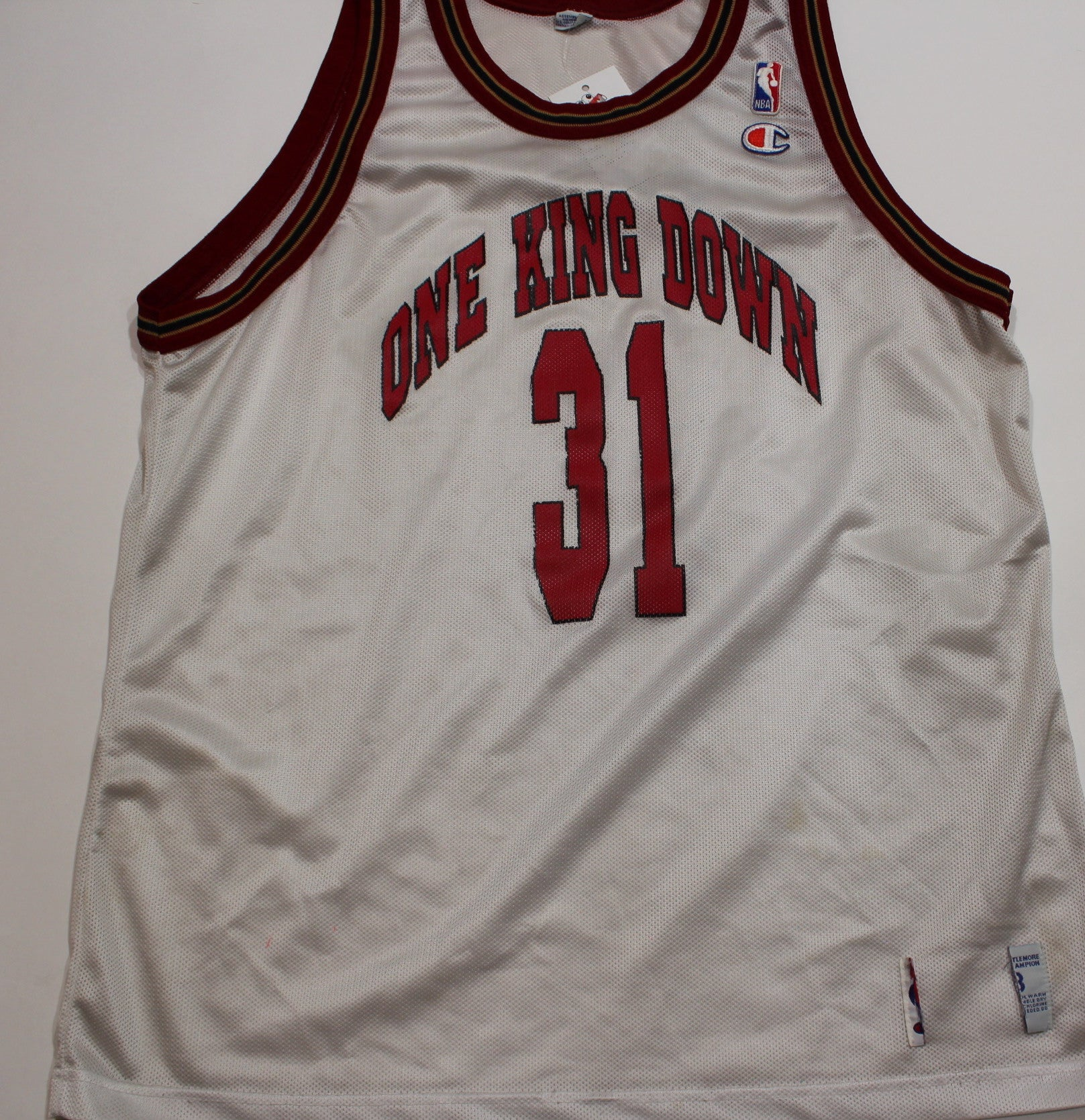 Vintage One King Down Basketball Jersey - jointcustodydc