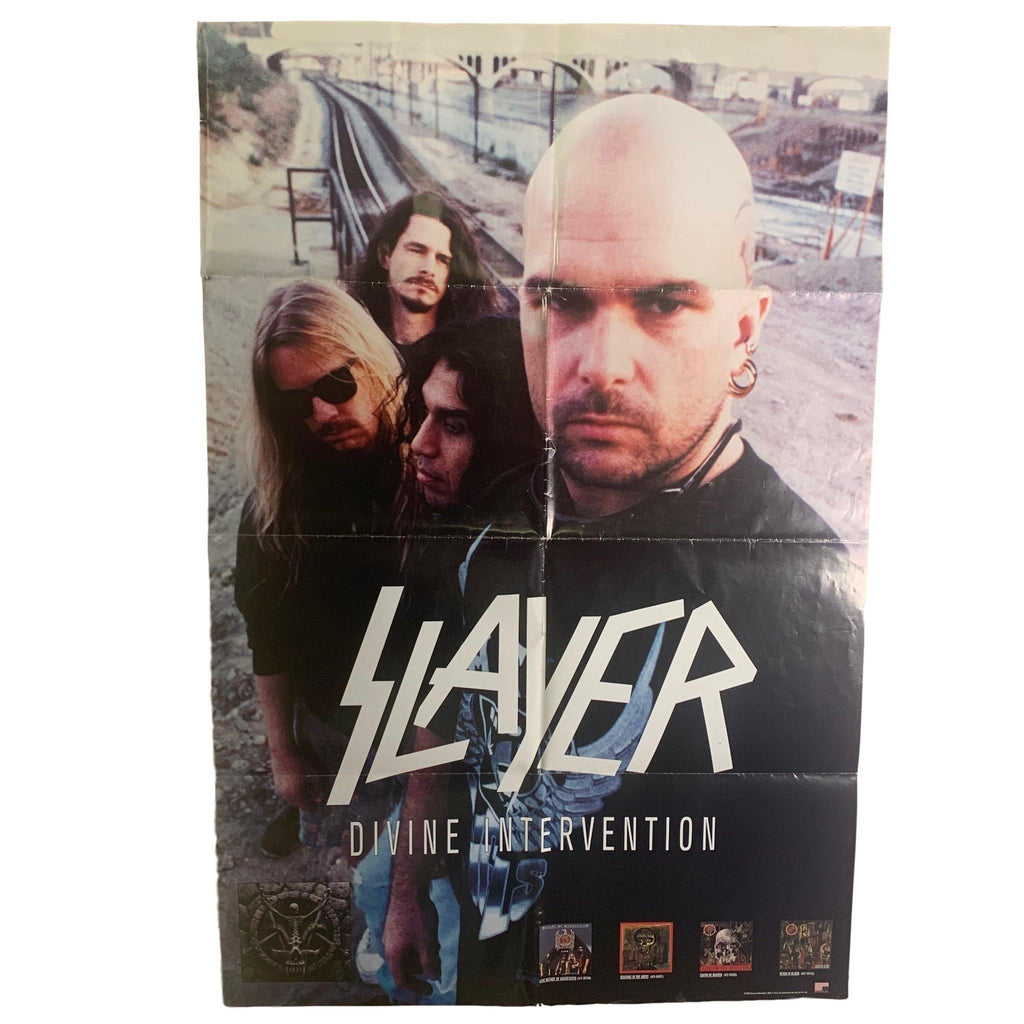 "Vintage Slayer ""Divine Intervention"" Promotional Poster"