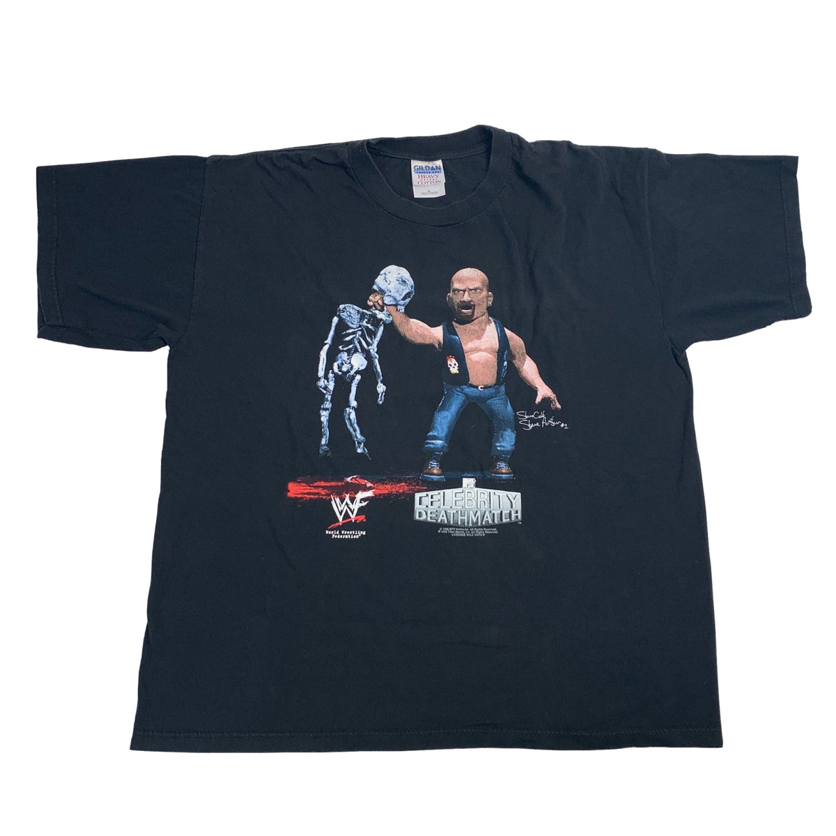 "Vintage Celebrity Death Match ""Stone Cold"" T-Shirt"