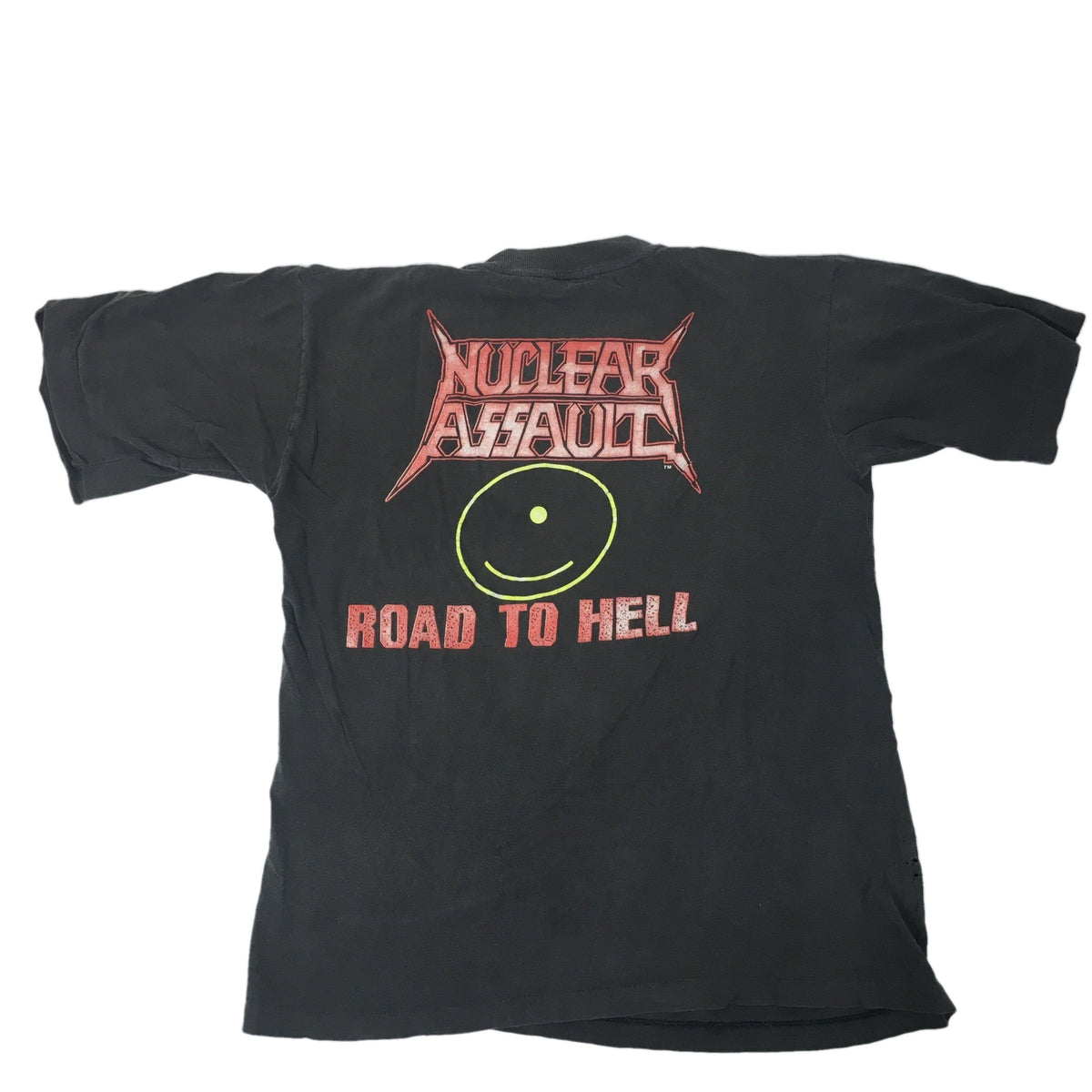"Vintage Nuclear Assault ""Road To Hell"" T-shirt 1989 - jointcustodydc"