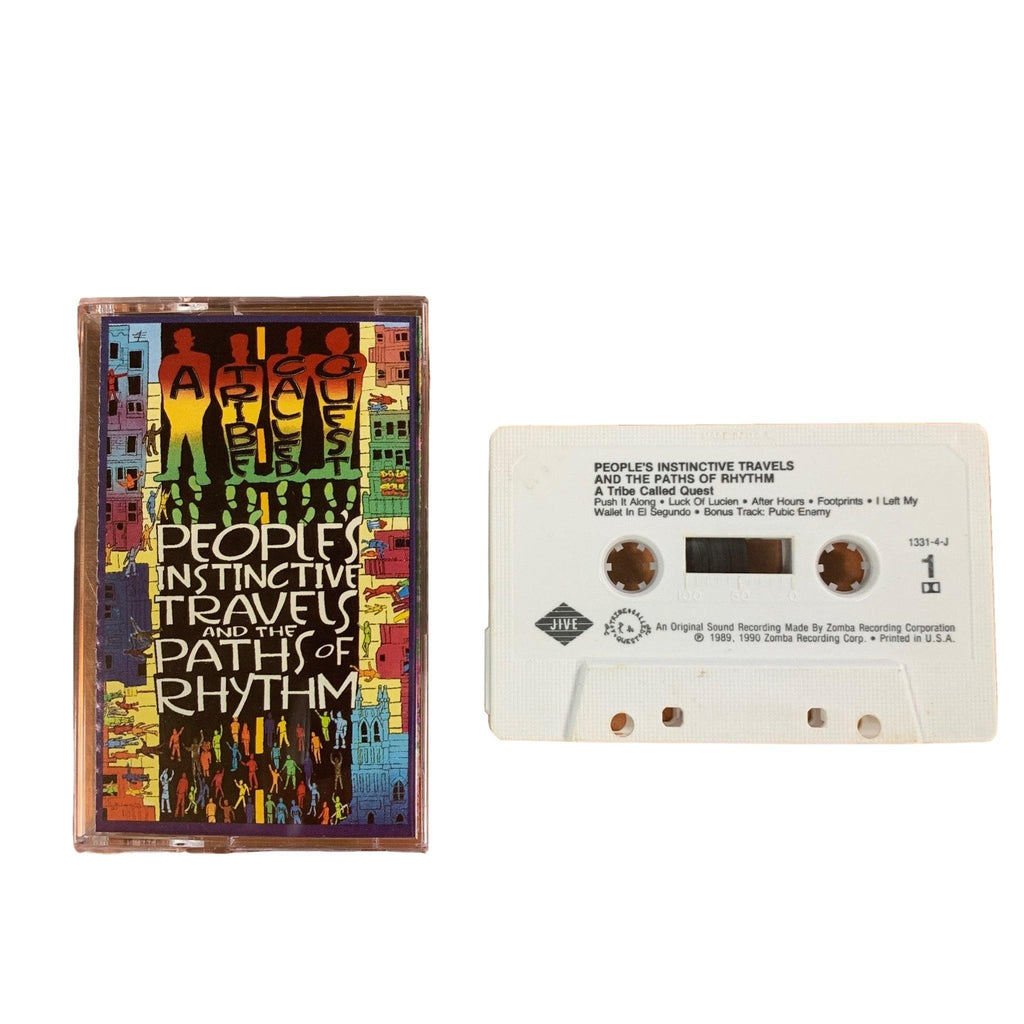 "Vintage A Tribe Called Quest ""People's Instinctive Travels"" Jive Records Tape"