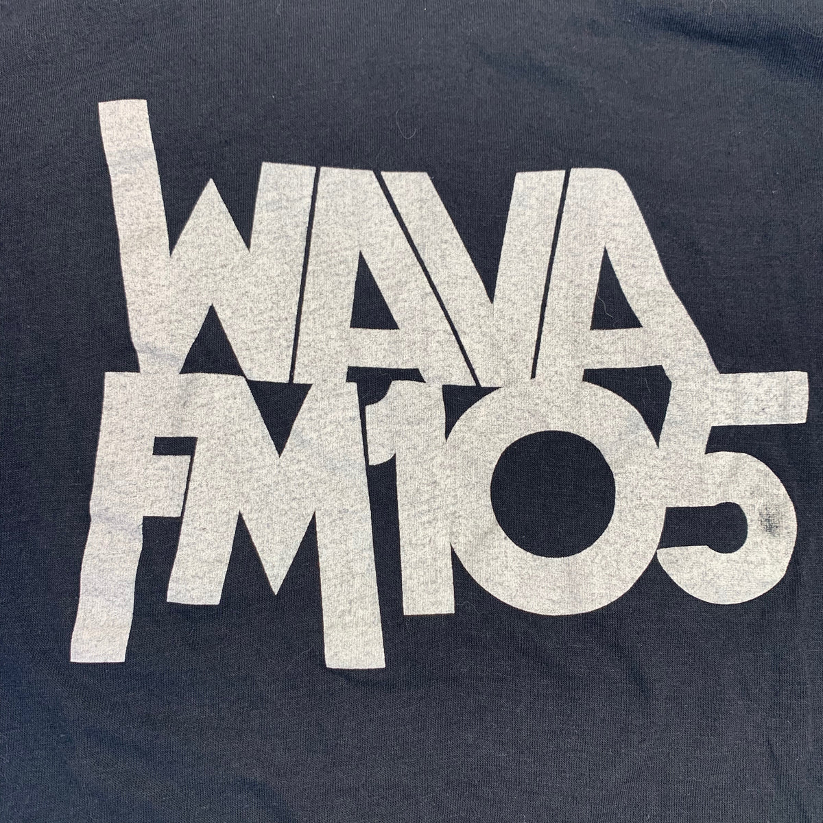 "Vintage The Beatles ""WAVA FM"" T-Shirt"