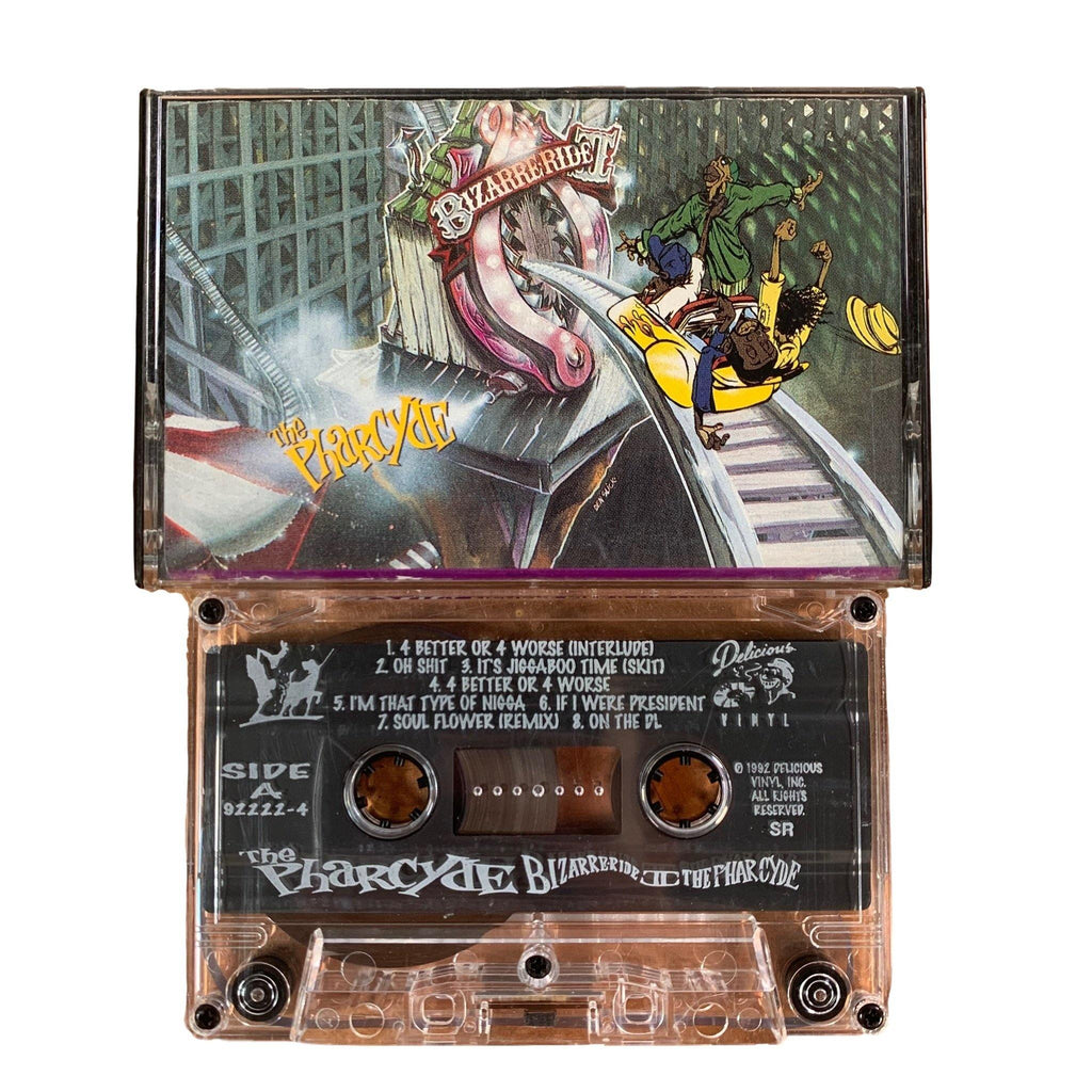 "Vintage The Pharcyde ""Bizarre Ride II The Pharcyde"" Delicious Vinyl Tape"