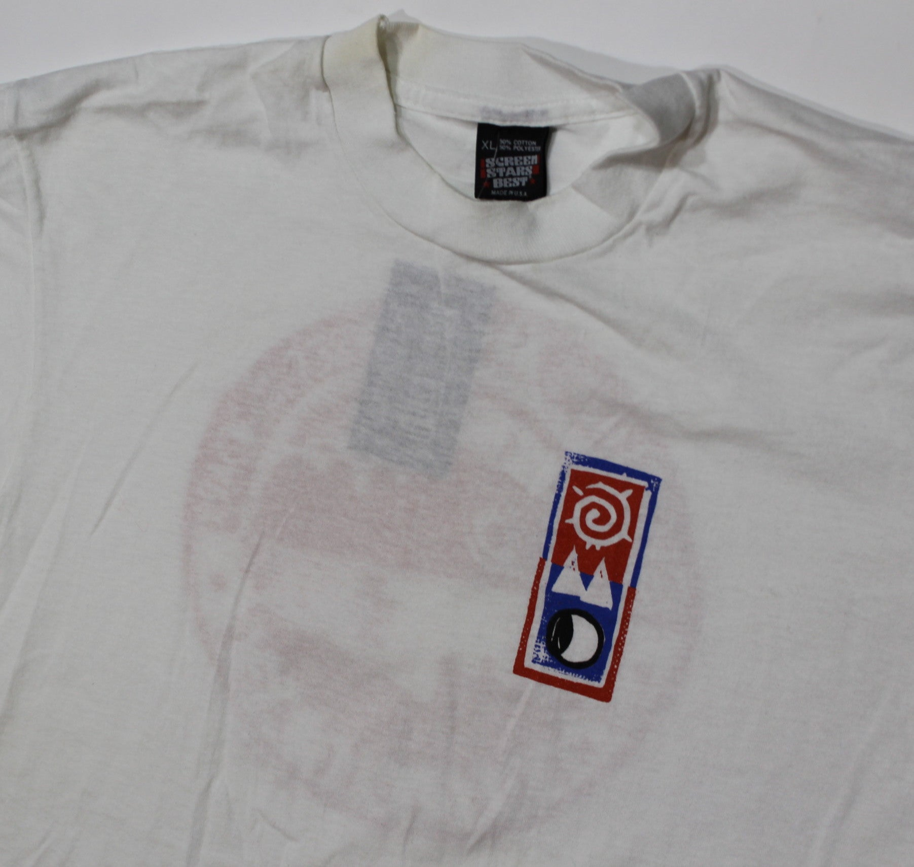 "Vintage Orchestral Manoeuvres in The Dark ""The Pacific Age"" T-Shirt - jointcustodydc"