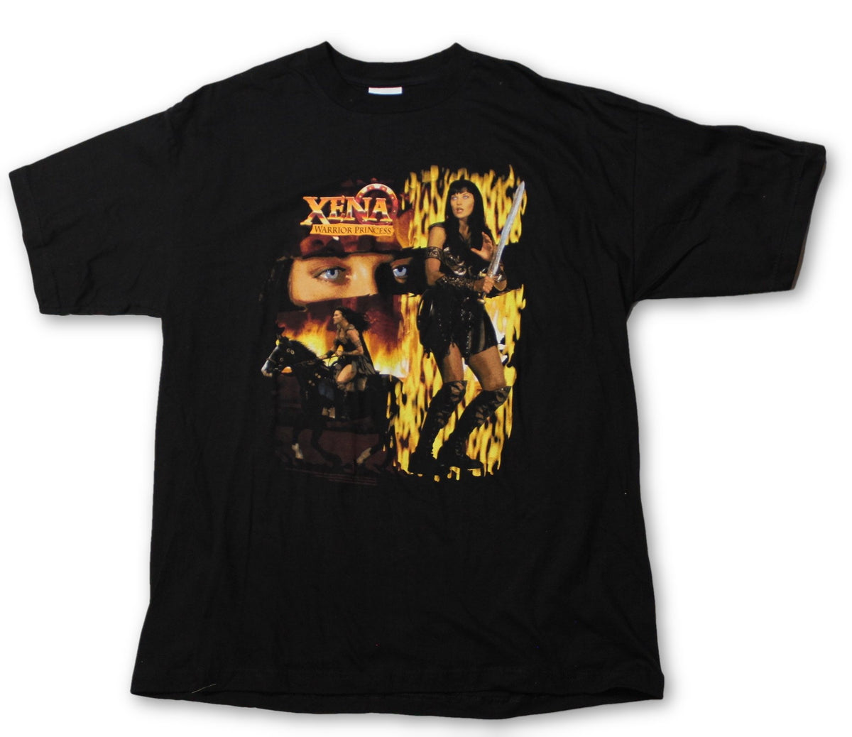 "Vintage Xena the Warrior Princess ""Xena"" T-Shirt - jointcustodydc"