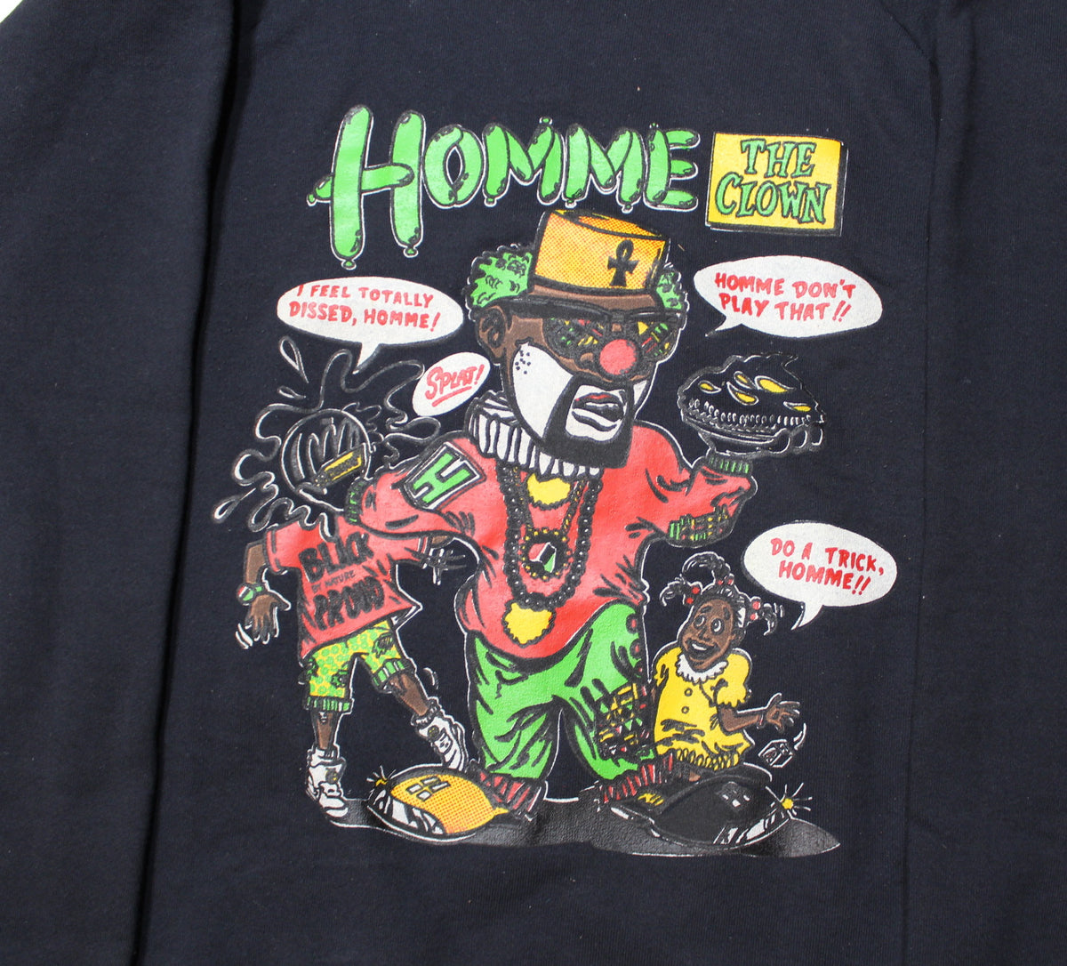 "Vintage Homey D. Clown ""Homme Print"" Sweatshirt - jointcustodydc"