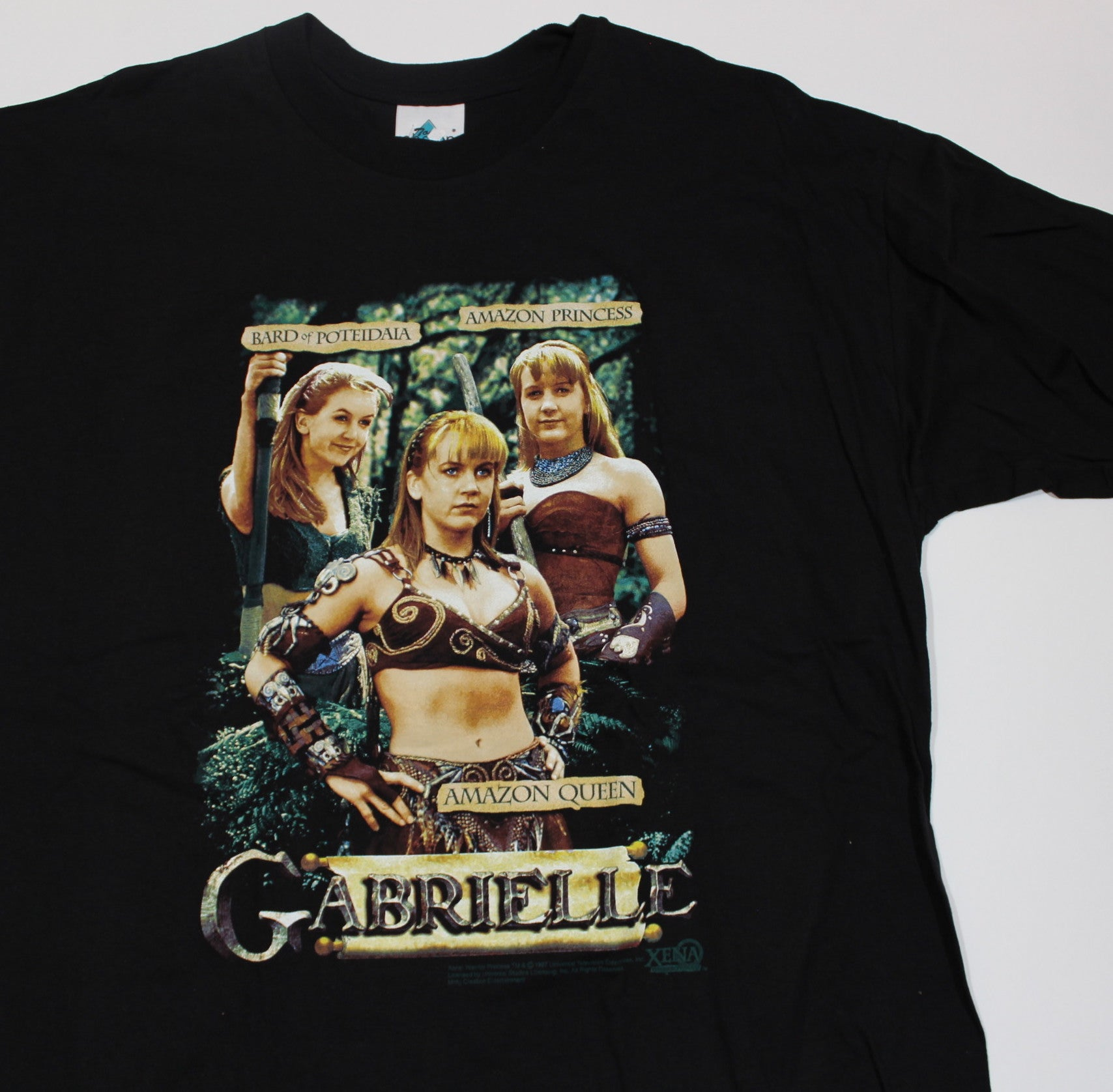 "Vintage Xena The Warrior Princess ""Gabrielle"" T-Shirt"
