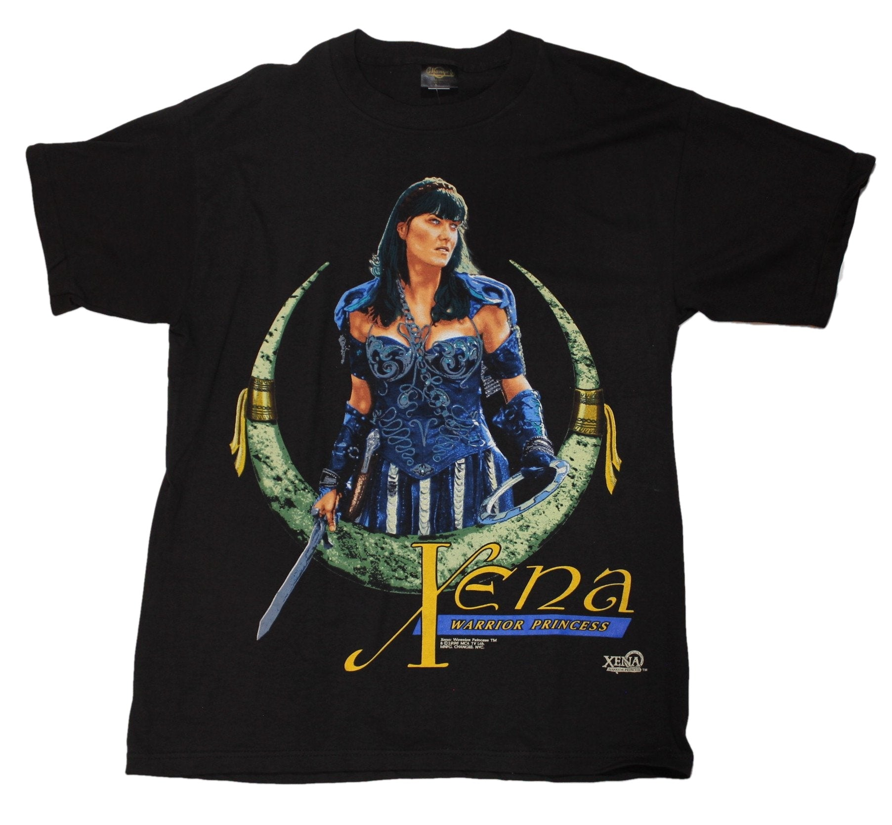 "Vintage Xena The Warrior Princess ""Xena"" T-Shirt"