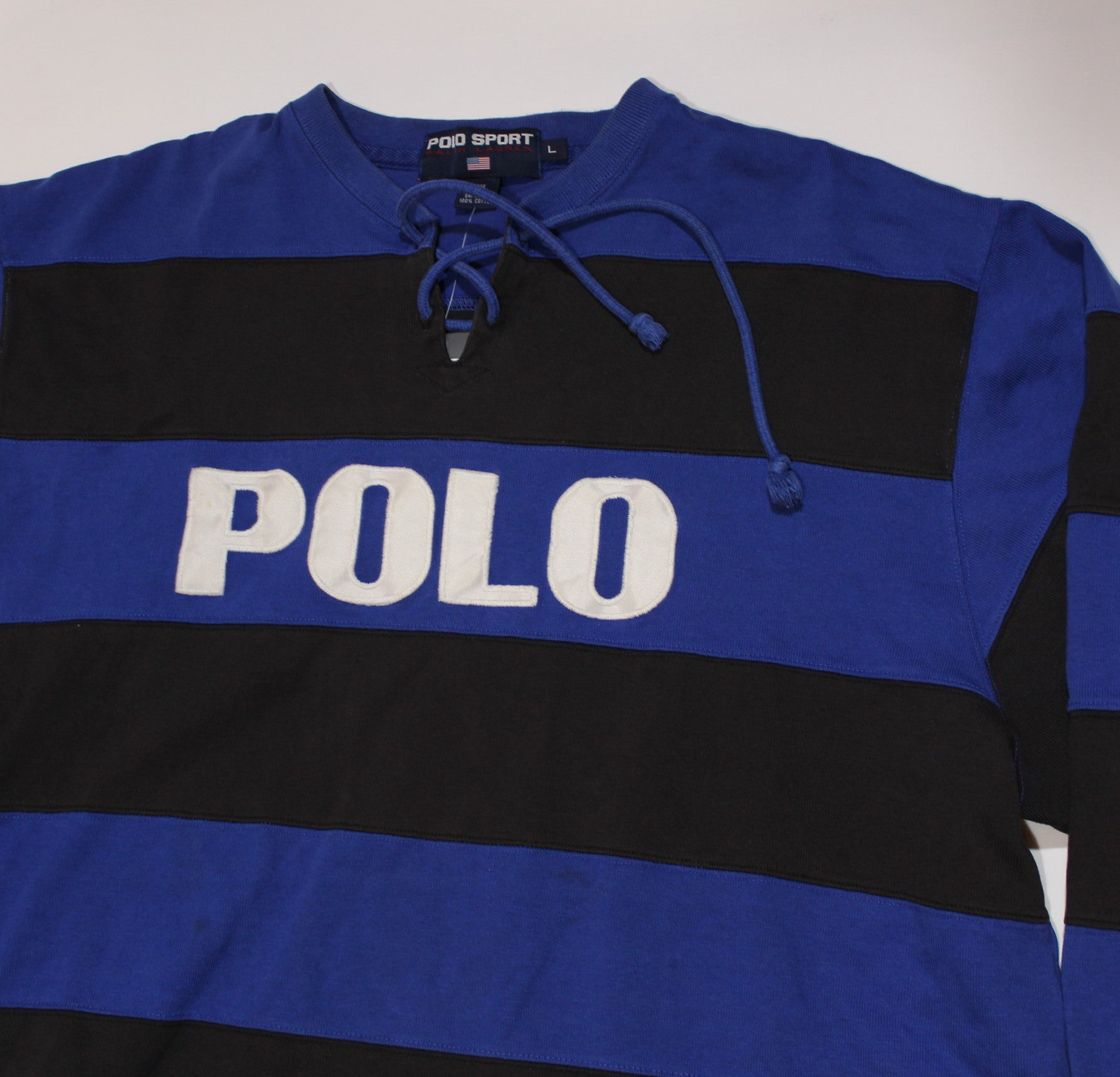"Vintage Ralph Lauren Polo Sport ""Polo"" Rugby Shirt"