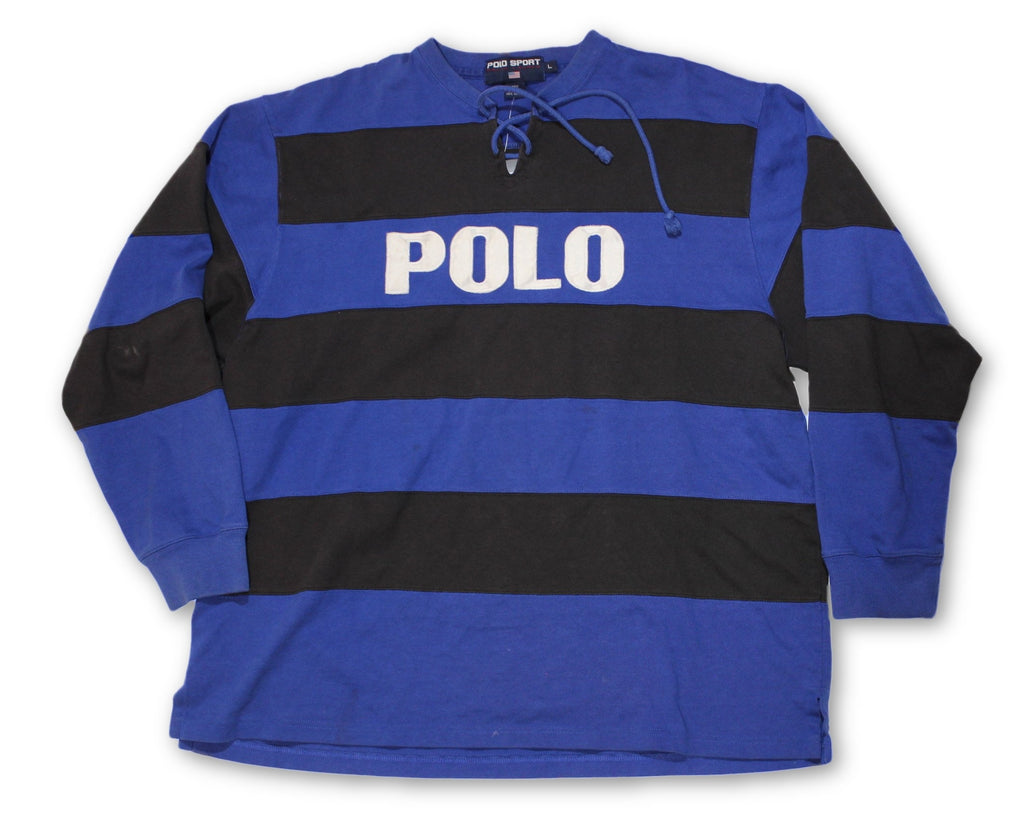 "Vintage Polo Sport ""Polo"" Rugby Shirt"