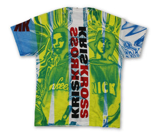 "Vintage Kris Kross ""All Over Print"" T-Shirt"