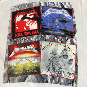 "Vintage Metallica ""And Justice For All"" T-Shirt - jointcustodydc"