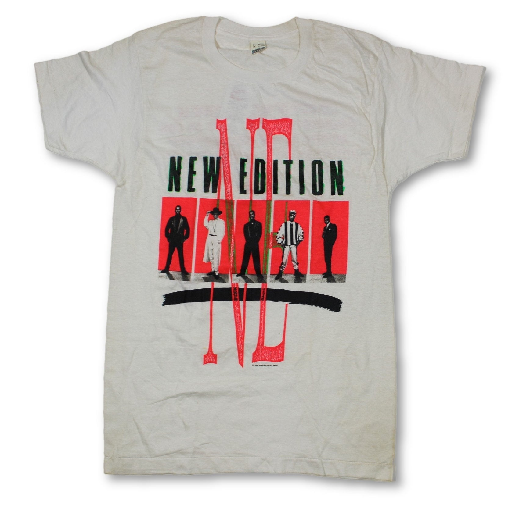 "Vintage New Edition ""Heartbreak"" T-Shirt"