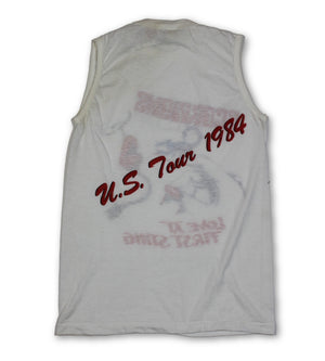 "Vintage Scorpions ""Love at First Sting"" Sleeveless T-Shirt"
