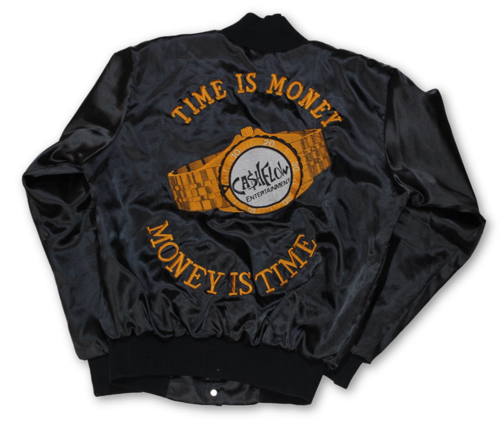 "Vintage Cash Flow Entertainment ""Time is Money"" Jacket"