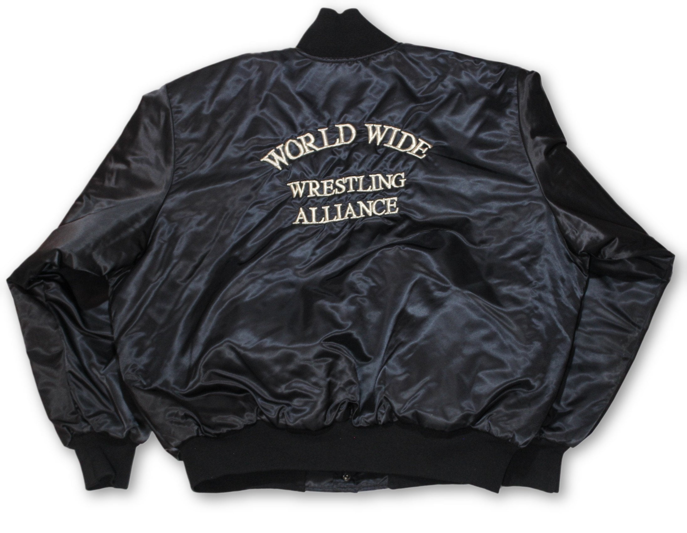 "Vintage World Wide Wrestling Alliance ""Varsity"" Jacket"