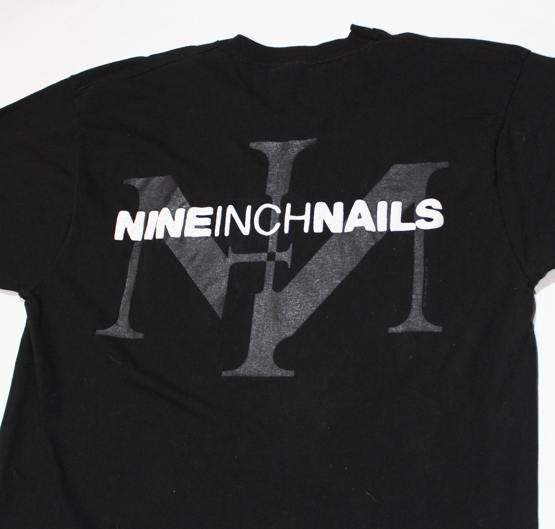 "Vintage Nine Inch Nails ""NIN Logo"" T-Shirt"