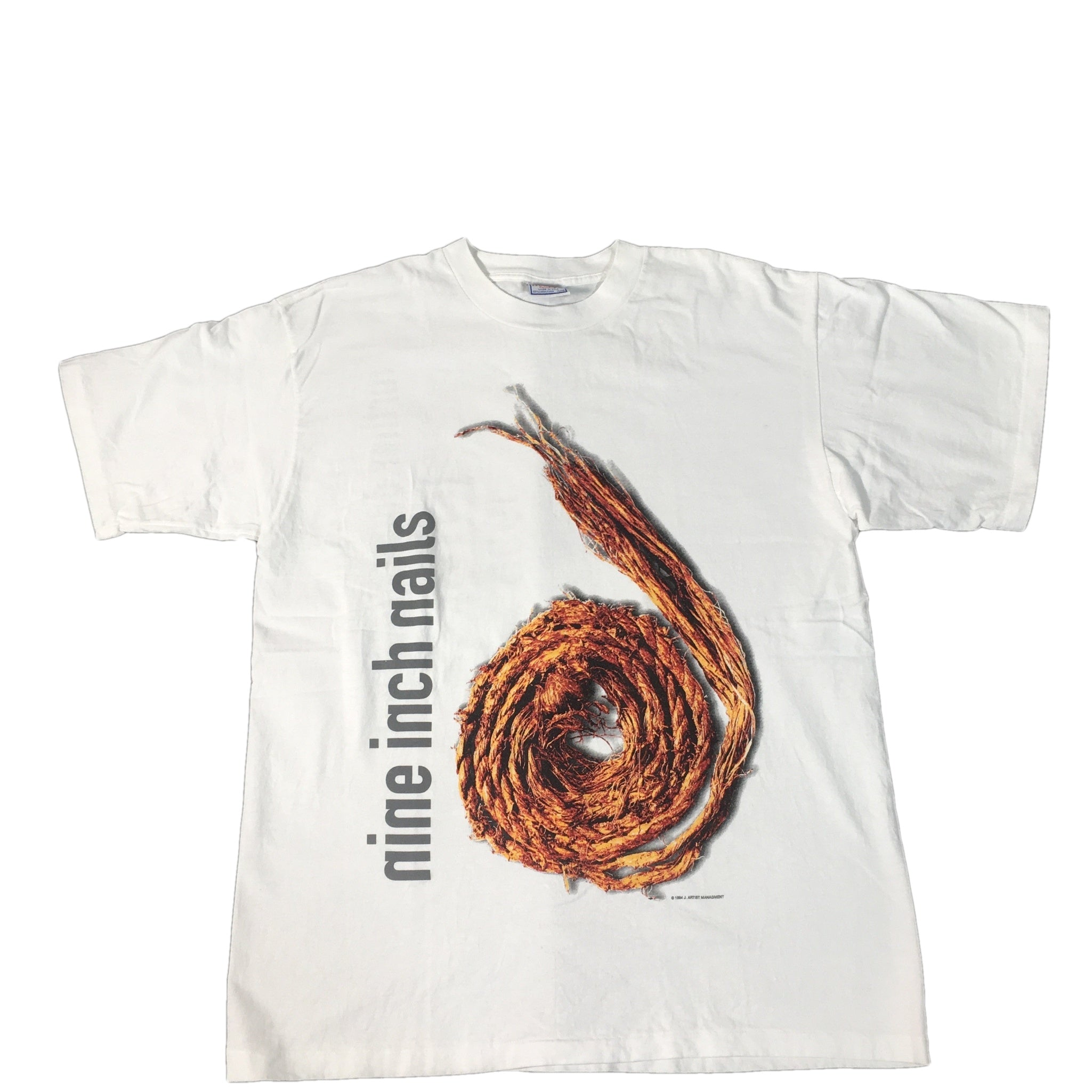 "Vintage Nine Inch Nails ""Further Down The Spiral"" T-shirt"