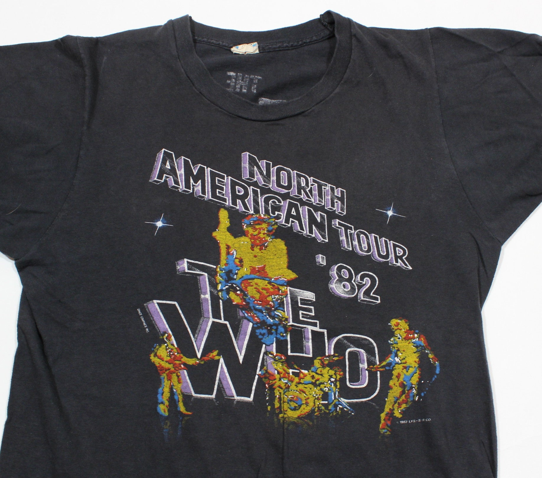 "Vintage The Who ""1982 Tour"" T-Shirt"