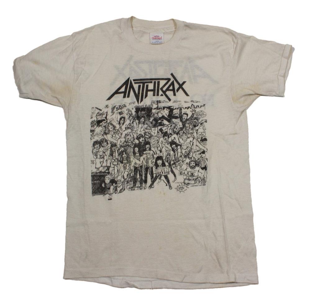 "Vintage Anthrax ""No Frills"" T-Shirt"