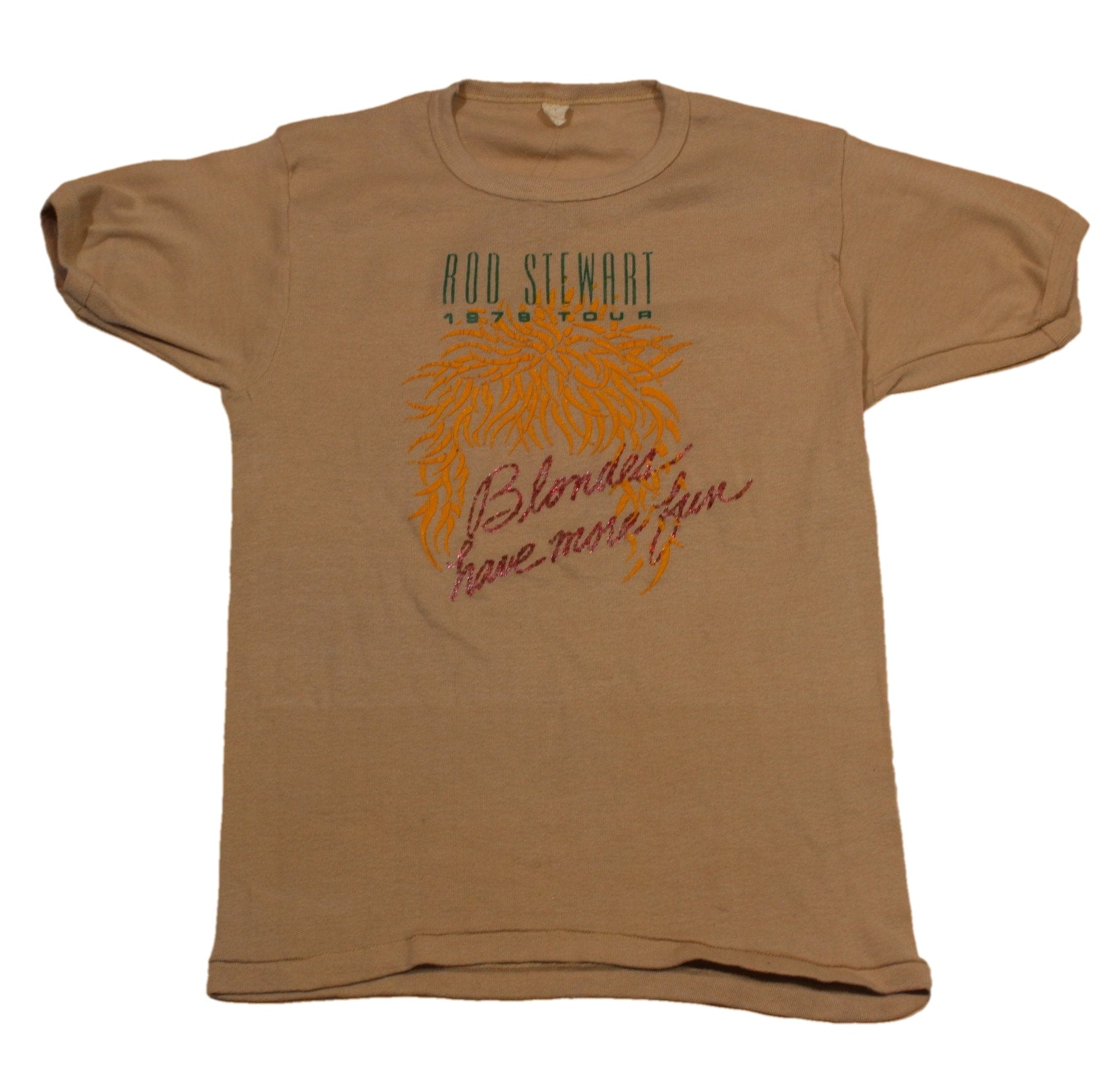 "Vintage Rod Stewart ""1979 Tour"" T-Shirt"