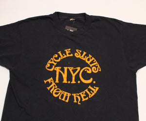 "Vintage Cycle Sluts From Hell ""NYC"" T-Shirt"