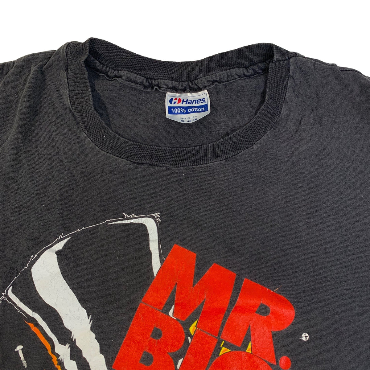 "Vintage Mr. Big ""Drilled and Confused"" T-Shirt"