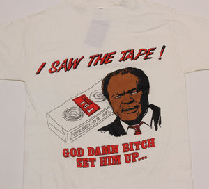 "Vintage Marion Barry ""I Saw the Tape!"" T-Shirt"