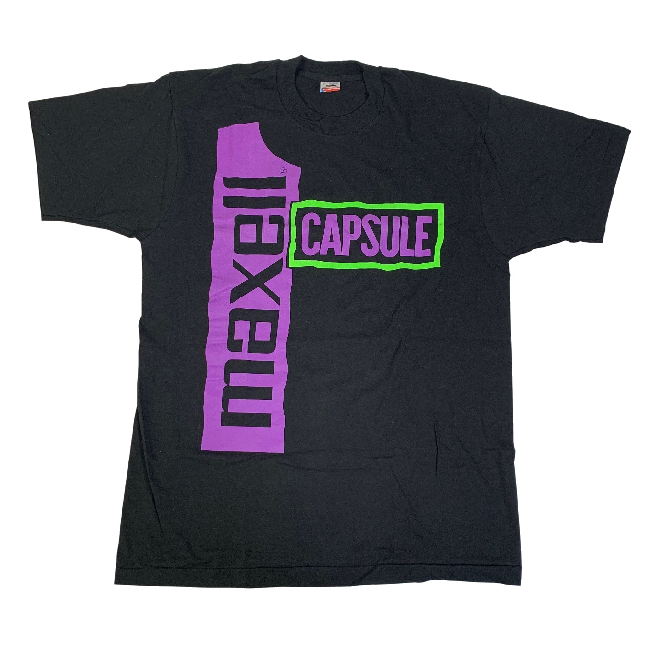 "Vintage Maxell ""Capsule"" T-Shirt"