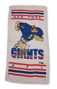 "Vintage New York Giants ""1988"" Towel"