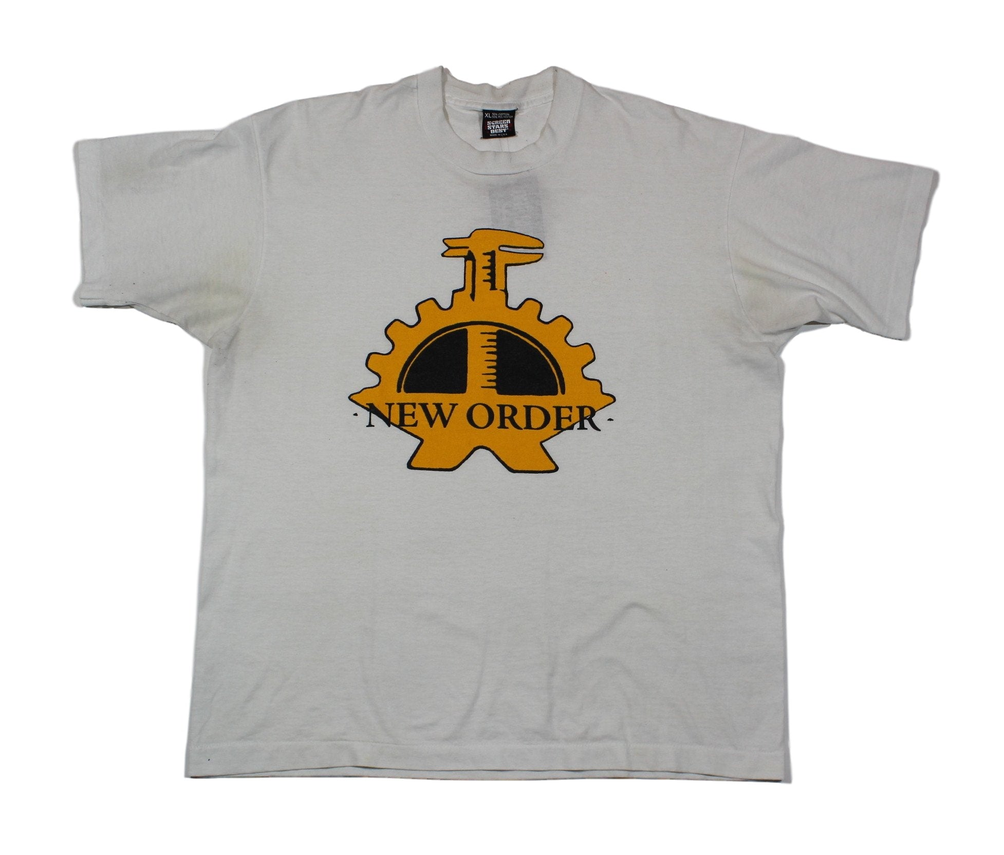 "Vintage New Order ""Gears"" T-Shirt"