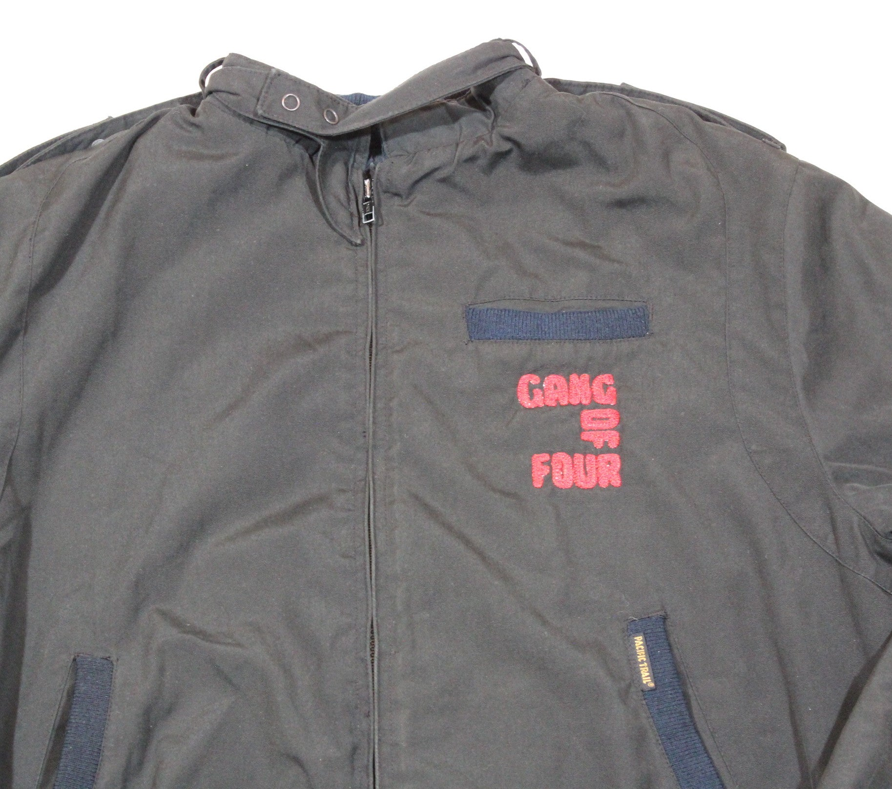 "Vintage Gang of 4 ""Embroidered"" Members Only Jacket"