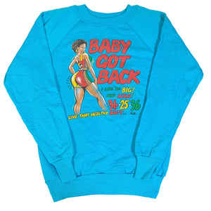 "Vintage Sir Mix-A-Lot ""Baby Got Back"" Crewneck Sweatshirt"