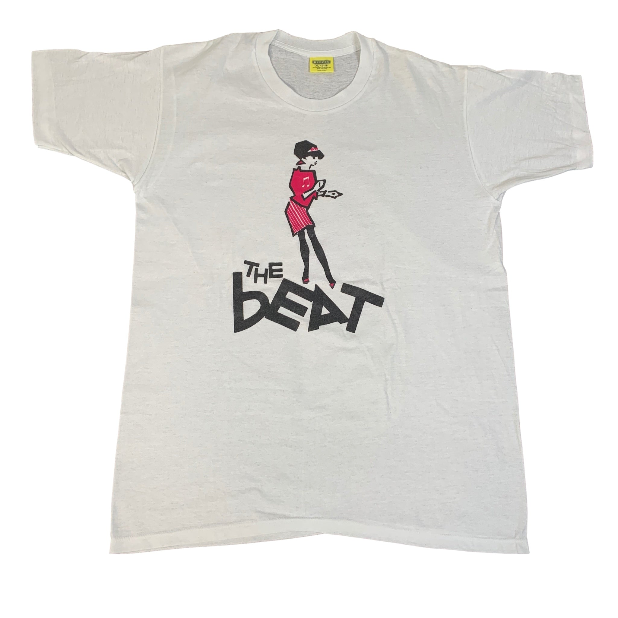 "Vintage The Beat ""Beat Girl"" T-Shirt"