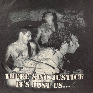 "Vintage Agnostic Front ""There's No Justice It's Just Us"" T-Shirt"