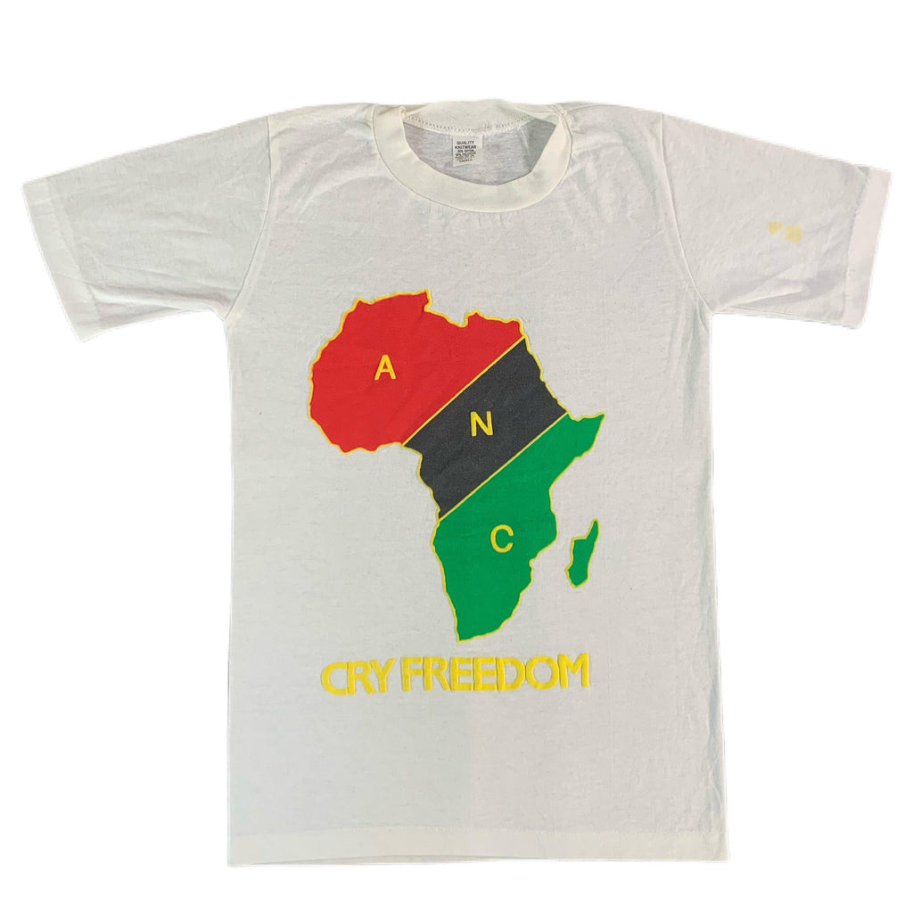 "Vintage South Africa ""Cry Freedom"" T-Shirt"