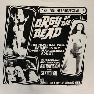 "Vintage Orgy Of The Dead ""Mutilation Graphics"" T-Shirt"
