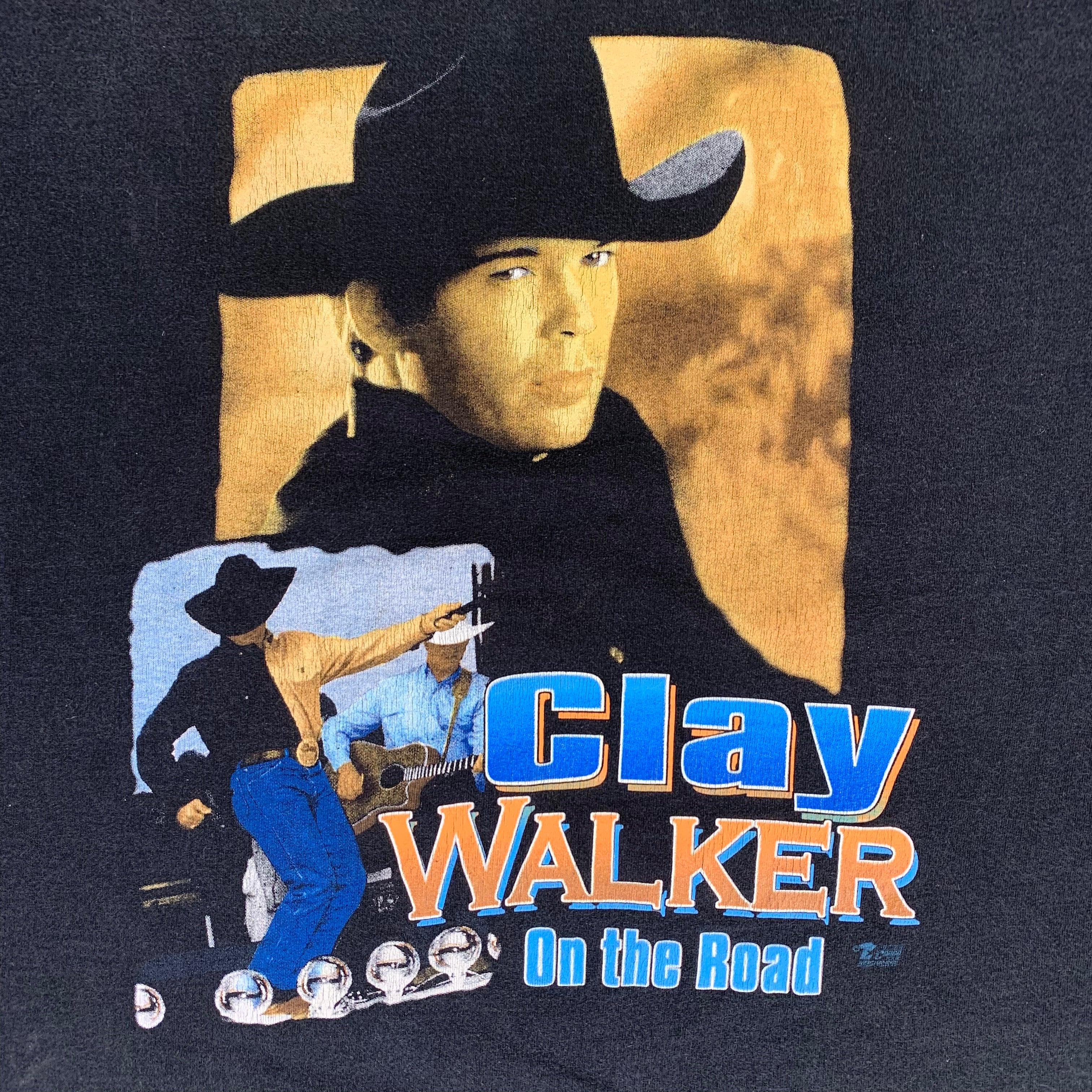 "Vintage Clay Walker ""Who Needs You Baby"" T-Shirt"