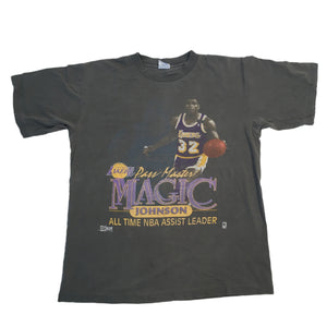 "Vintage Magic Johnson ""Pass Master"" T-Shirt"