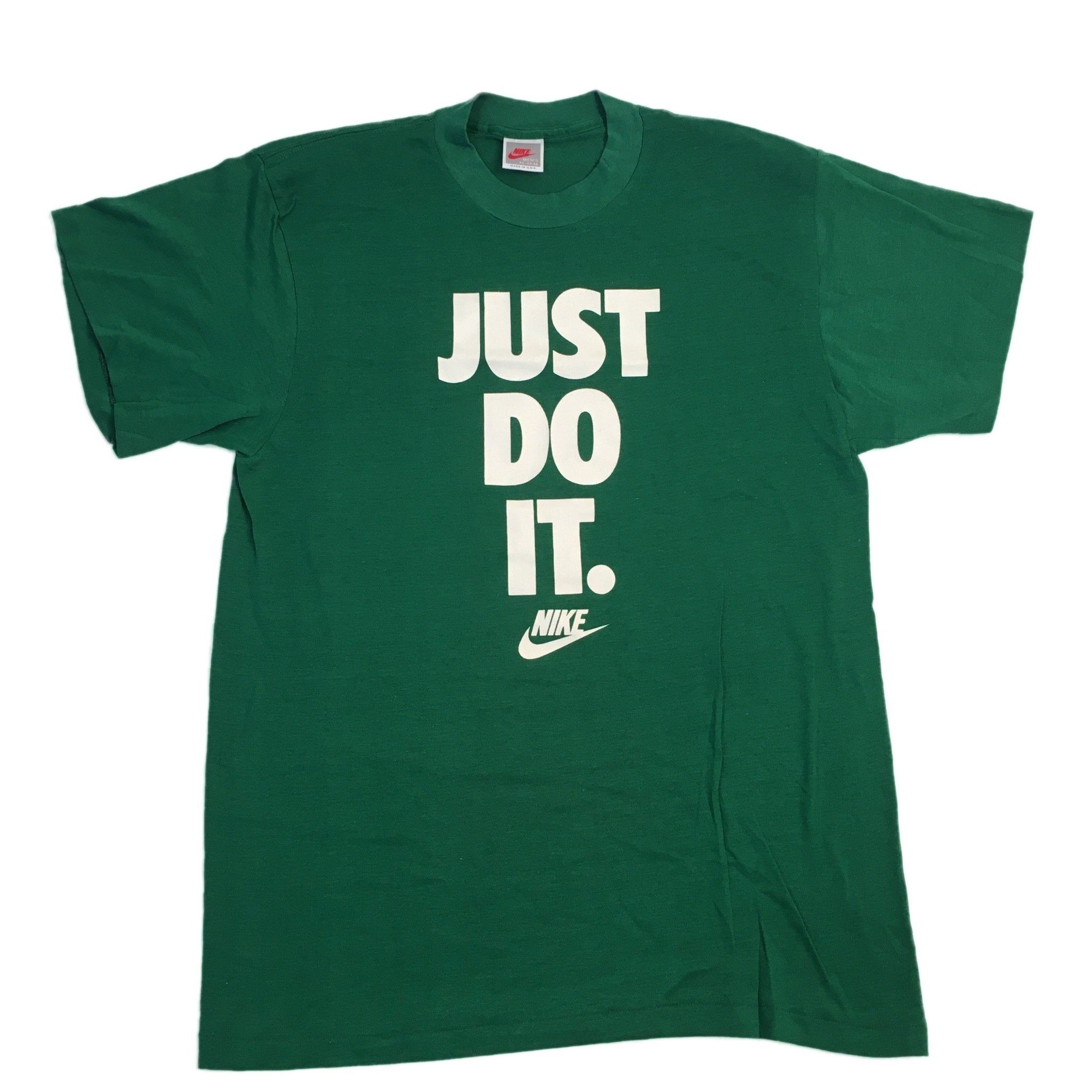 "Vintage Nike ""Just Do It"" T-Shirt - jointcustodydc"