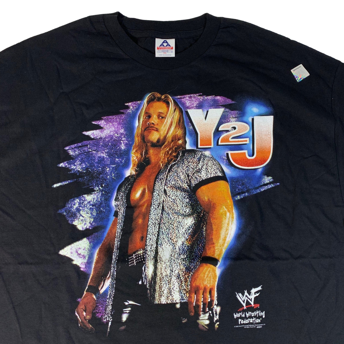 "Vintage Chris Jericho ""Y2J"" T-Shirt"