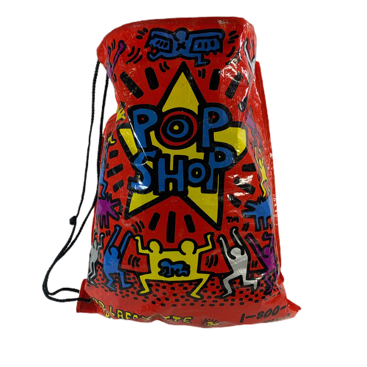 "Vintage Keith Haring ""Pop Shop"" Bag - jointcustodydc"